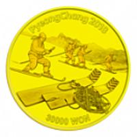 Реверс монеты «Олимпиада 2018-16»